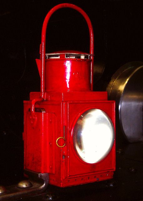 Header of signal lamp