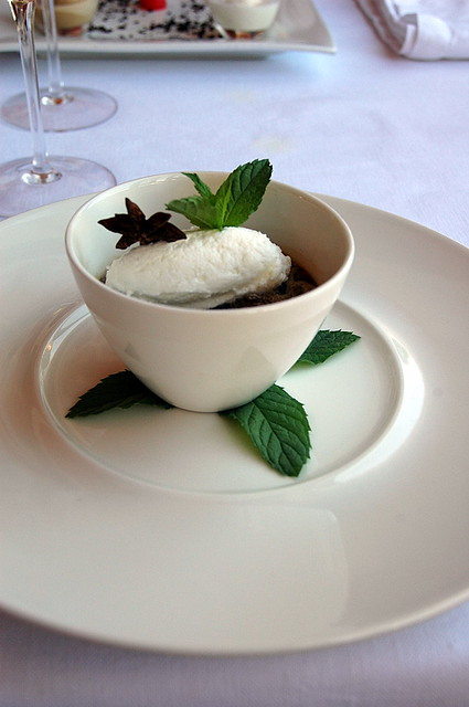 Dessert:Granita alla Panna