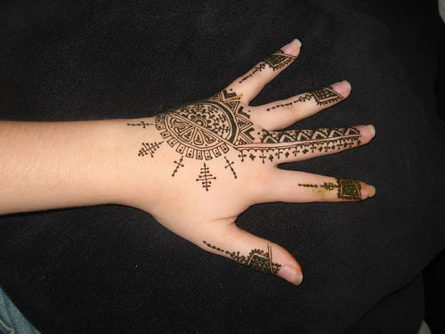 Mehndi Lion Tattoo : Image gallery henna lion