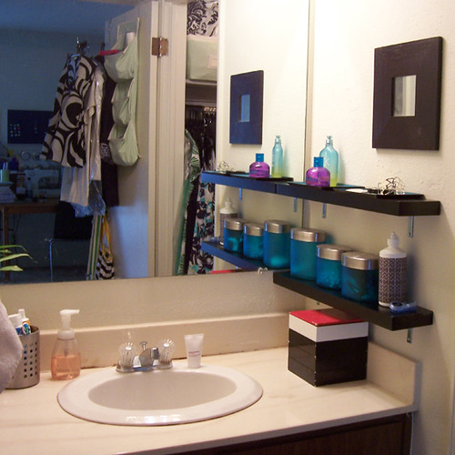 Apartment Therapy Kitchen Shelves: [Apartment Therapy Fall Cure] AFTER 09.07 {bathroom ...
