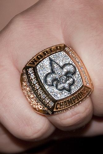 Saint's Superbowl Ring