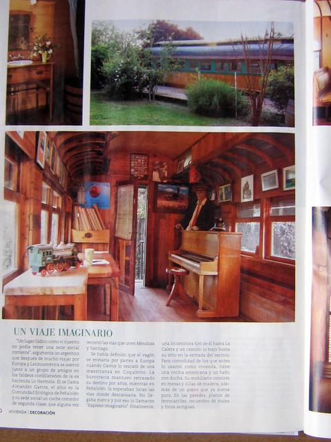 El expreso imaginario en revista vivienda y decoraci n for Vivienda y decoracion