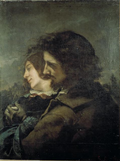 Gustave Courbet: Les amants dans la campagne (1844)