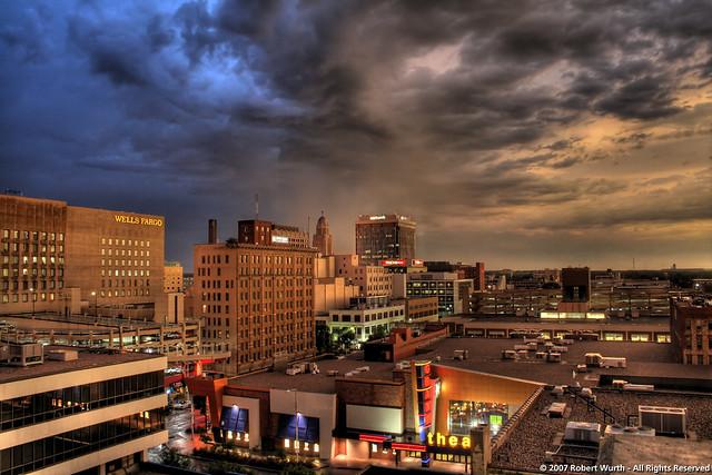 Downtown Lincoln Nebraska August 20 2007 Hdr Flickr