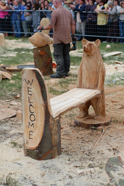 Chainsaw carving flickr photo sharing