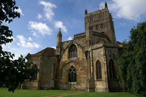 Tewkesbury Abbey - flckr - Dave Hamster