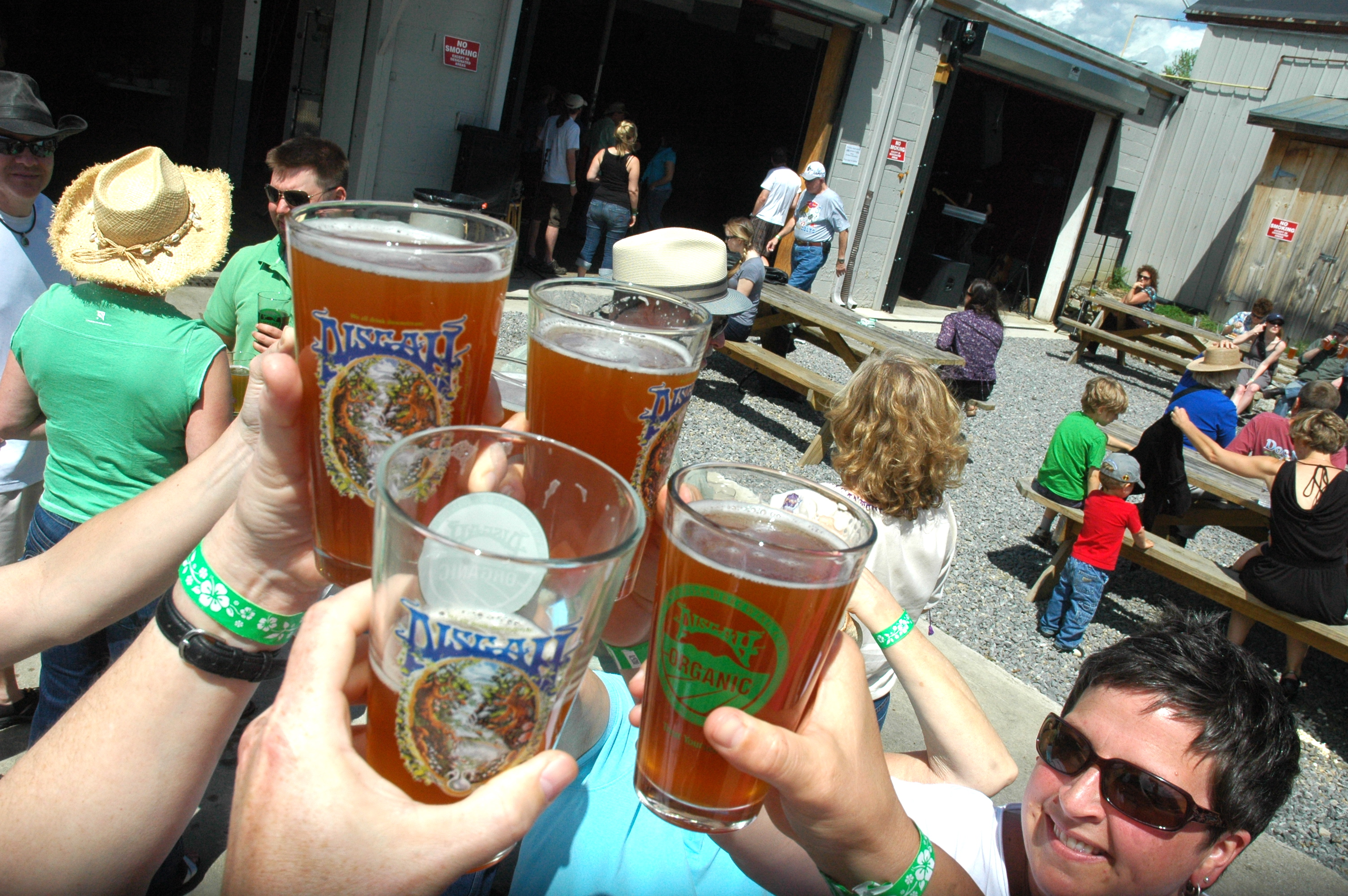 Cheers to Pisgah Brewing's 5th anniversary!