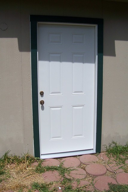 exterior door trim installation flickr photo sharing