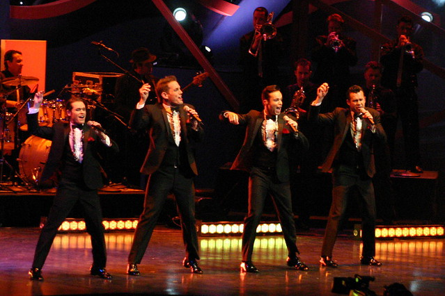 Human Nature performs