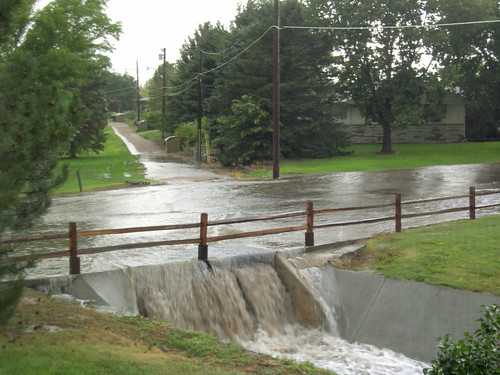 Thrilling Drainage Canal Next to the House