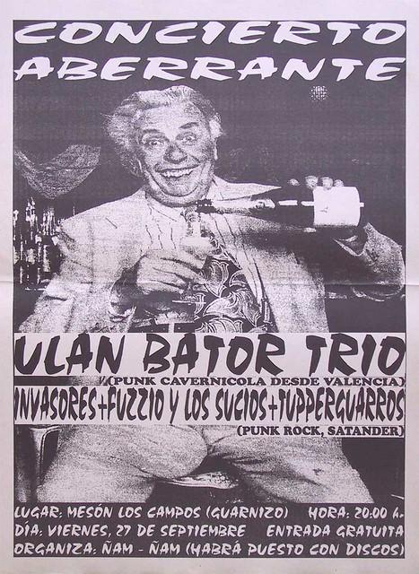 Ulan Bator Trio+Fuzzio Y Los Sucios+Invasores+Tupperguarros