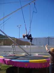 jumping, trampolining--equipment and supplies, trampoline, performance,