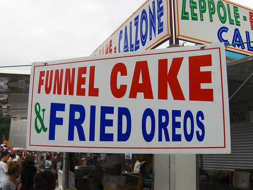 Funnel Cake & Fried Oreos