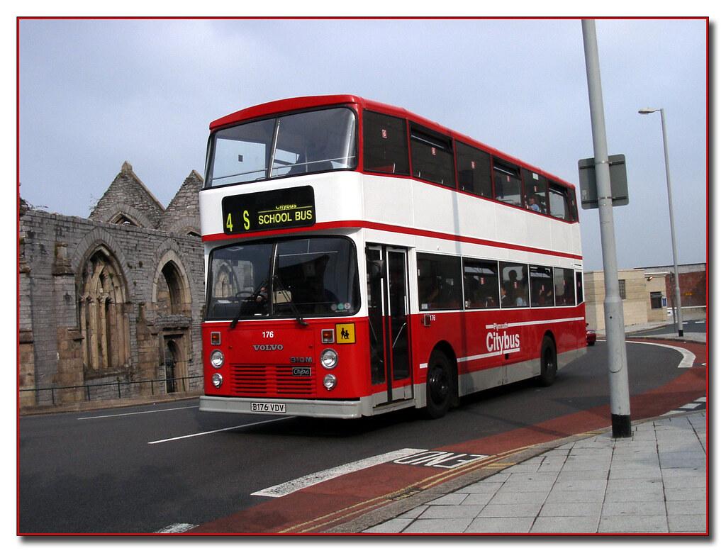 Plymouth Citybus 176 B176VDV