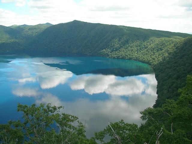 摩周湖 (摩周湖第一展望台) Masyuko lake (Hokkaido, Japan)