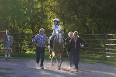 Sophia Trotting at River Valley Riders