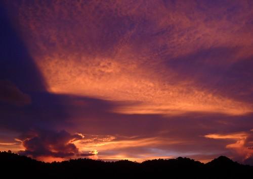 sky color dawn puertorico cielo caribbean ponce caribe crepúsculo
