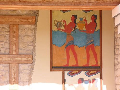 Fresque palais de cnossos