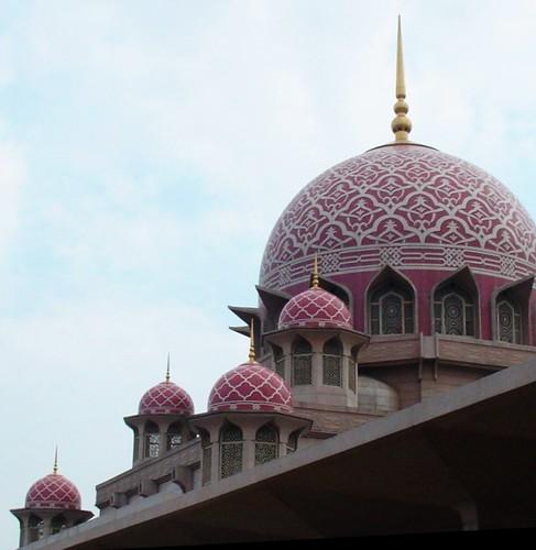 mosque malaysia putrajaya oldcity minarets cascading flickrsbest mywinners anawesomeshot