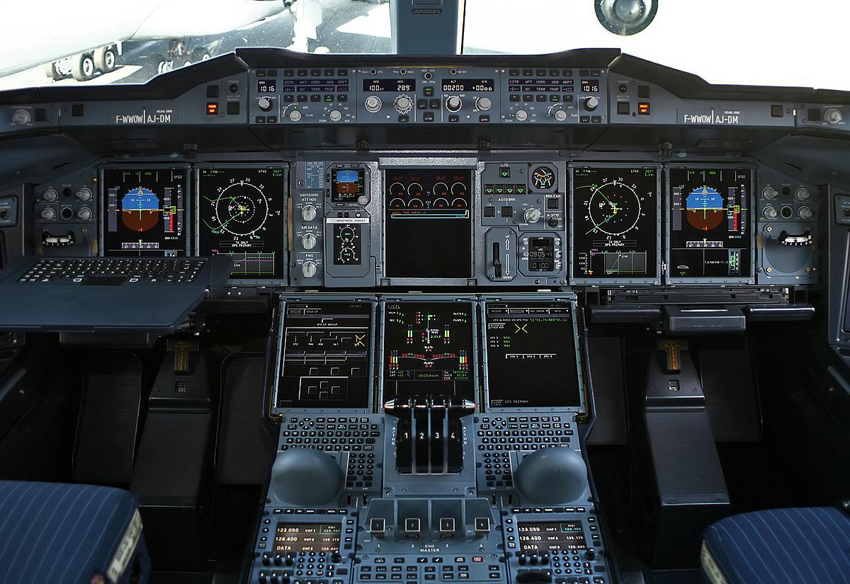 Airbus A380 Cockpit
