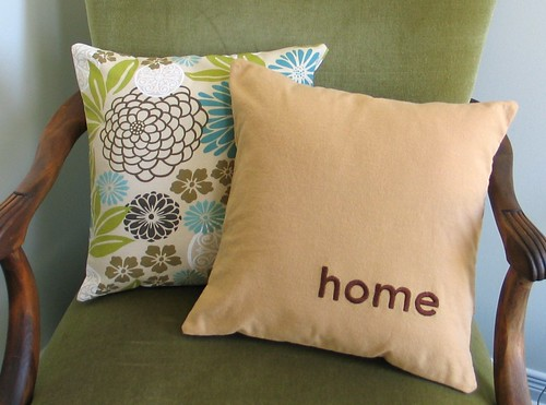 home - pillow cover