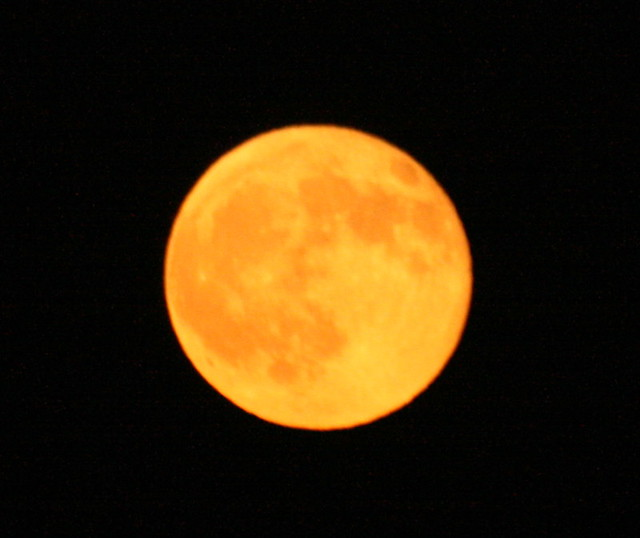 Different colors of moon | Flickr - Photo Sharing!