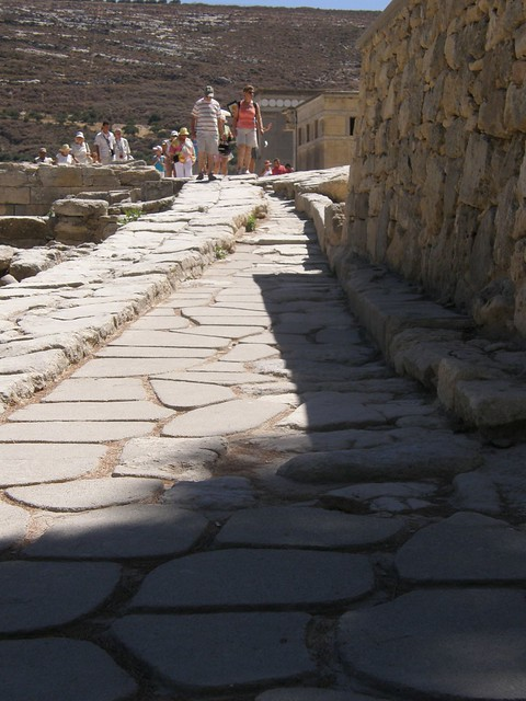 Knossos, the Palace of King Minos and the Minothaurus, 4000years old, 081