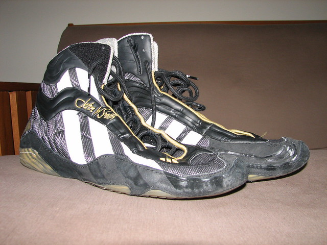 Wrestling Shoes Adidas Mat Wizards. Original John Smith Mat wizards.