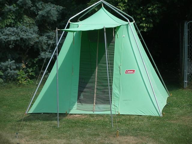 Vintage Coleman Tent 3
