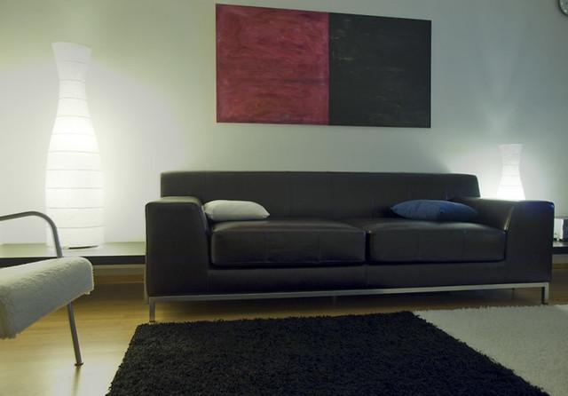 Ikea Kramfors / brown leather