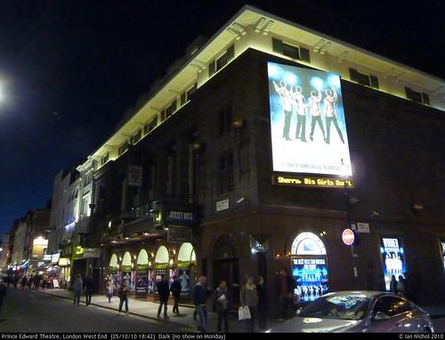 Prince Edward Theatre, London West End