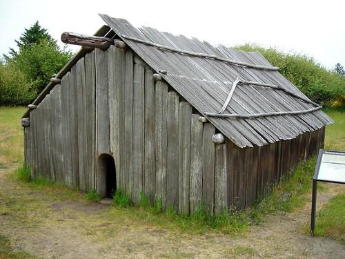 162 Clatsop Indian Longhouse Ft Stevens SP