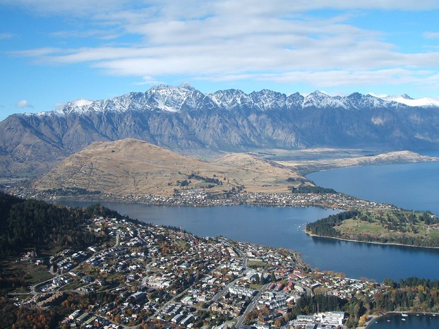 Queenstown, from the cable car