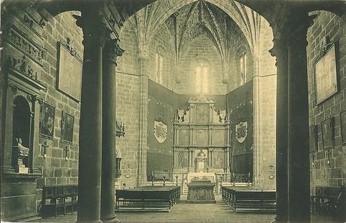 Ávila. Iglesia de Mosén Rubí. Interior