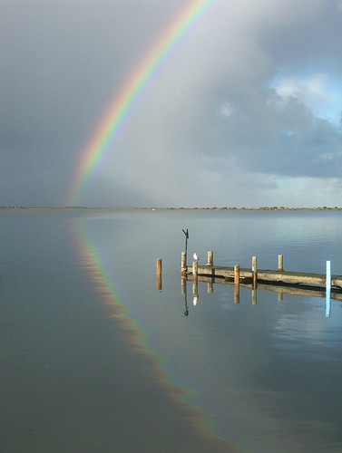 Rainbow reflected