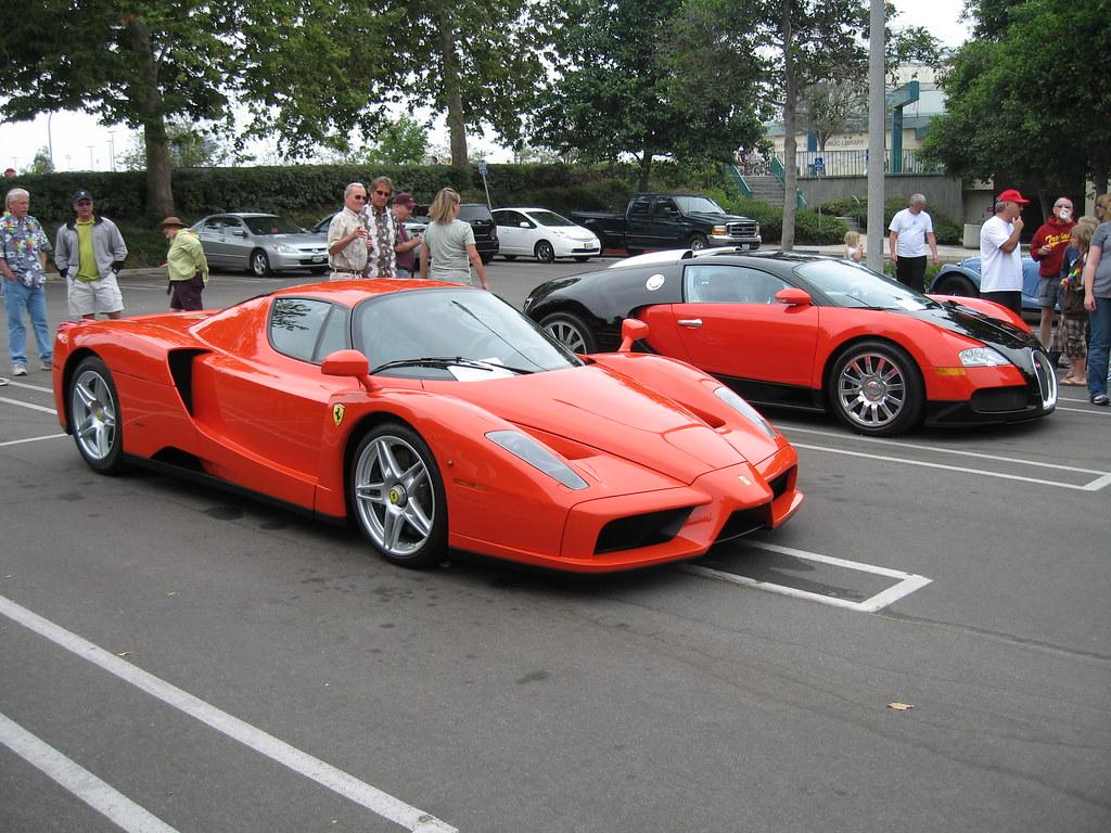 Ferrari enzo and bugatti veyron a photo on flickriver ferrari enzo and bugatti veyron vanachro Image collections