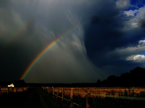 Thunderstorm and Rainbow