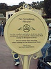 No Smoking policy (1st day), Main Gate, Main Street U.S.A., Disneyland, Anaheim, California.
