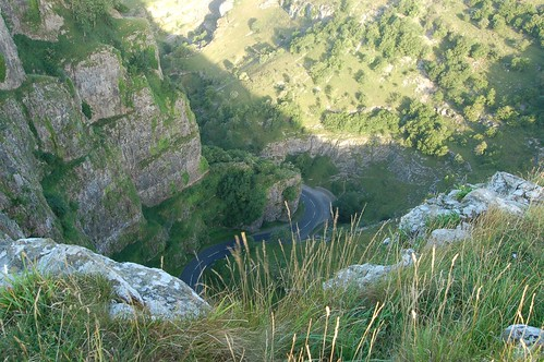 View from Cheddar Gorge