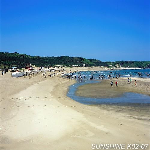 是北海岸最脍炙人口的海水浴场