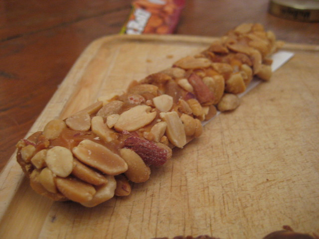 Salted Nut Roll Bars Cake Mix
