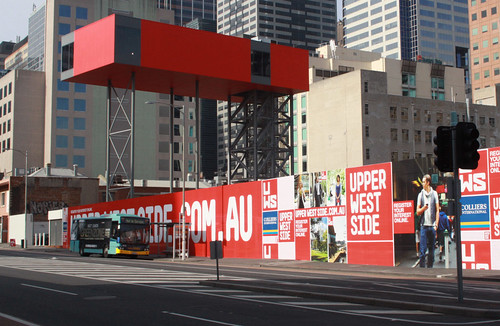Display suite for Melbourne's new 'Upper West Side' development