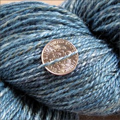 The Whale's Migratory Tale yarn, close up #2