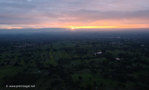 Sunrise at Melkote