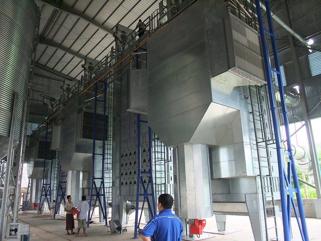 MCD Paddy Drying Plant (200-240TPD) - SSL CO LTD, Myanmar