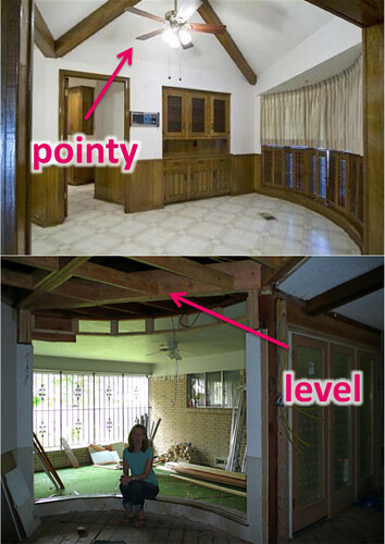 The Flip: Tackling the Great Room Ceiling