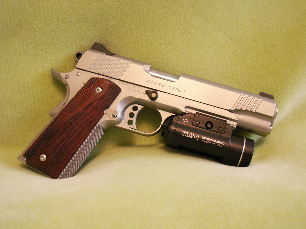 PICT0007   Kimber Stainless Steel TLE/RL-II  45ACP with Stre