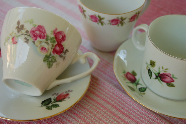 Thrifted Coffee Cups by iHanna