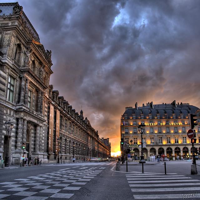 Paris - Louvre Rivoli