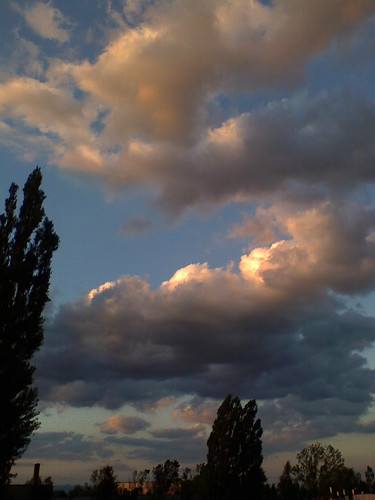 sunset sky nature clouds sunrise romania brasov